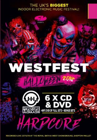 Westfest - 2018 - Hardcore - CD Pack